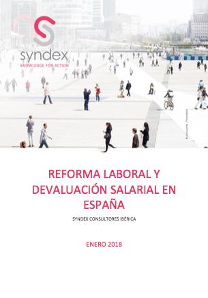 Descarga nuestro estudio : REFORMA LABORAL Y DEVALUACIÓN SALARIAL EN ESPAÑA