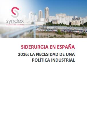 Descarga nuestro estudio « 2016: la necesidad de una política industrial »
